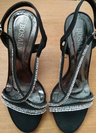 Туфли на каблуке Bosaly 35 разм   Сандалии, босоножки,  балетки