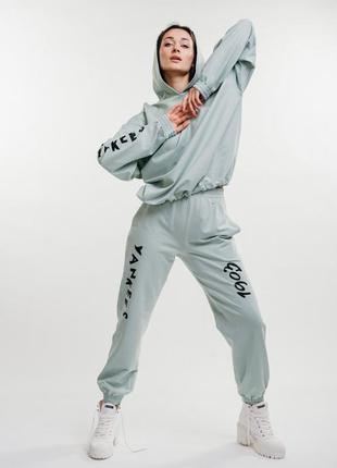 Спортивный костюм с принтом yankees