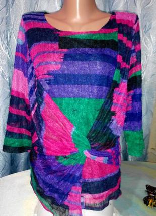 Ажурная блуза от рer una