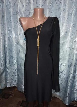 Коктельное платье на одно плече
