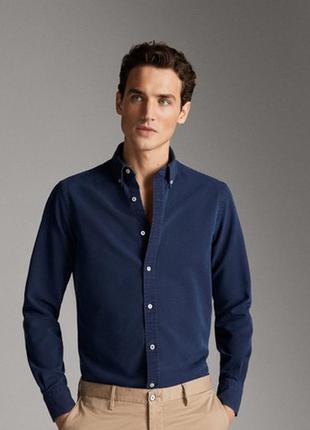 Рубашка мужская massimo dtti