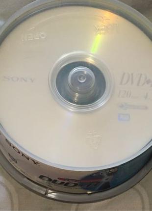 Диски DVD+R