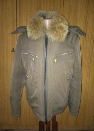 Зимняя курточка на подростка  от siwoernuo