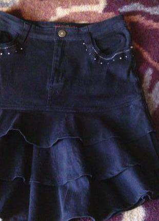 Каттоновая юбка