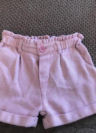 Тепленькие шорты mothercare