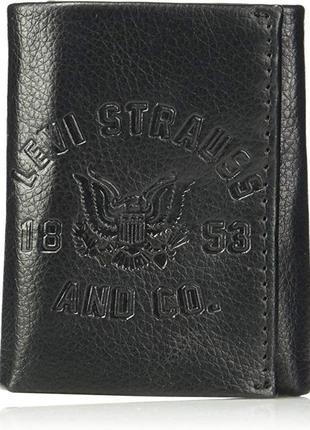 Кожаный мужской кошелек levis фирменный портмоне оригинал лева...