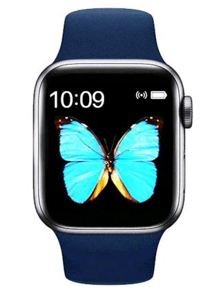 Смарт часы -⌚️Smart Watch T500 Plus blue⌚️