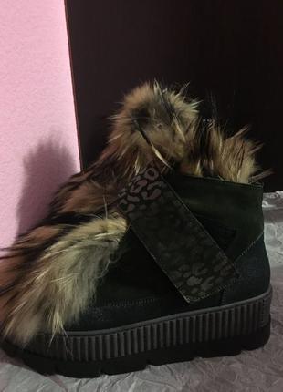 MARZETTI, зимние ботинки, полусапоги, 39 размер.