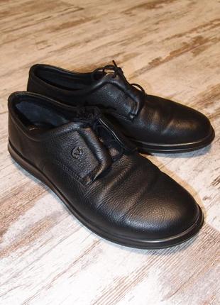Кожаные ботинки в спортивном стиле Ecco