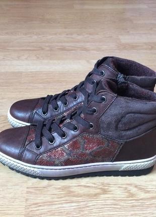 Новые кожаные ботинки gabor германия 37 размера