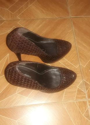 Туфли на скрытой платформе