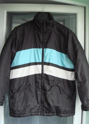 Теплая куртка для двора р.152 beat wear мальчику 10-12лет, зим...