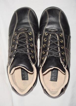 Туфли-кроссовки р.37, демисезон new lander черные, мальчику, в...