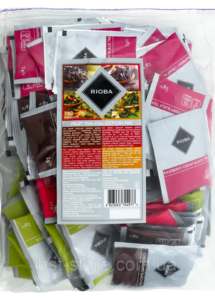 Набор чаев Rioba Fruit tea collection mix 100*2гуп