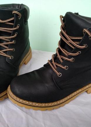 """Непромокаемые ботинки """"lucky shoes"""" германия р.38 женские деми..."""