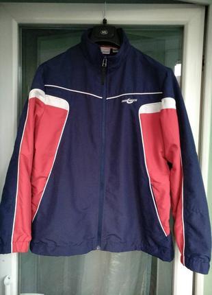 Куртка-ветровка р.164 «pro touch» спортивная подростку 13-14 лет