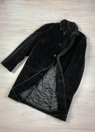 Пальто зимнее мужское меховое strellson! шуба мужская boss