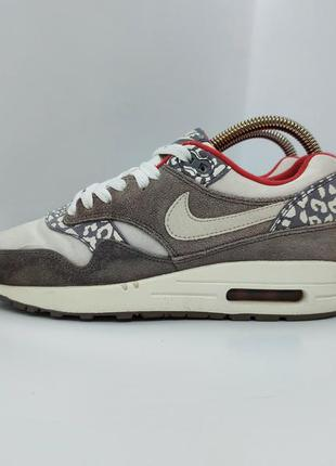 Кроссовки nike air max 1 grey leopard оригинал