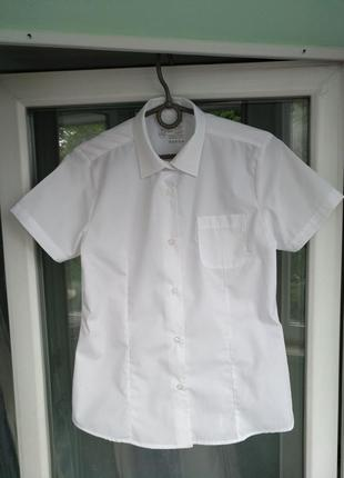 "Блузка-рубашка ""smart start"" р.152 девочке 11-12лет белая школ..."