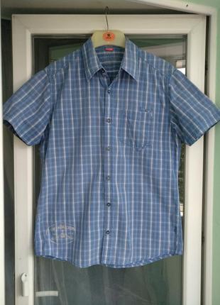 "Шведка ""s.oliver"" разм.s/м легкая летняя мужская рубашка"