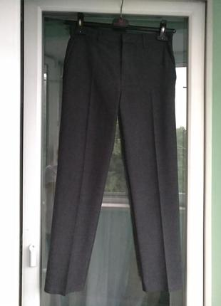 Брюки школьные m&s р.152 мальчику 12л штаны форма