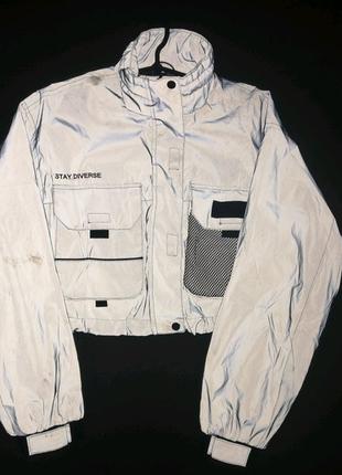 Светоотражающаяя куртка-ветровка