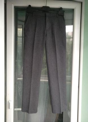 Брюки школьные george р.140-146 мальчику 10-11лет штаны форма