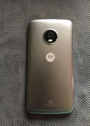 Корпус Motorola Moto g5 plus xt1687 задняя крышка стекло камеры