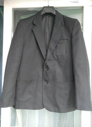 Пиджак школьный zeco разм.31 мальчику-подростку 12-13л рост 15...