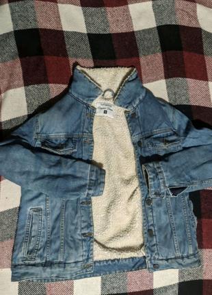 Джинсовая куртка, джинсовка.
