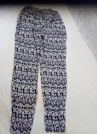 Летние зауженные брюки