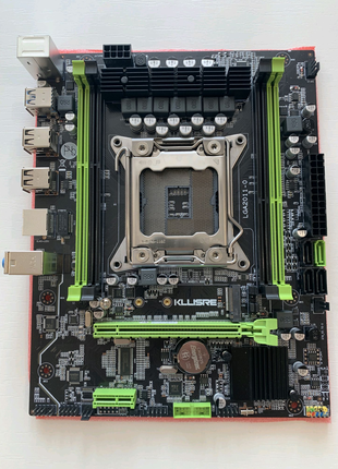 Материнская плата Kllisre x79, LGA 2011, DDR3, Intel Xeon, M-ATX