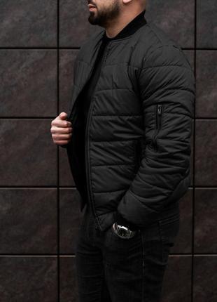Мужской весенний бомбер курточка