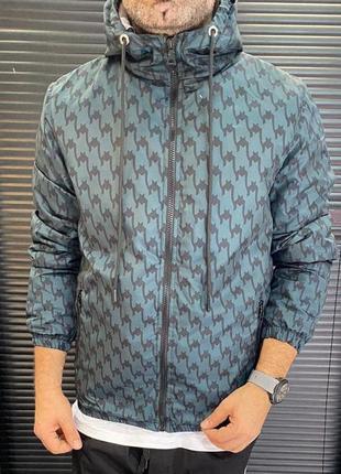 Куртка ветровка мужская синяя турция / курточка віртовка чолов...