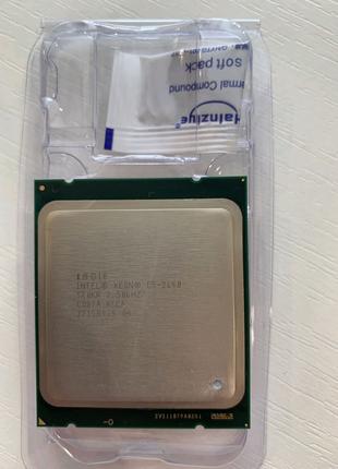 Процессор Intel Xeon E5-2640, LGA 2011, 2.5 GHz, 6/12 ядер