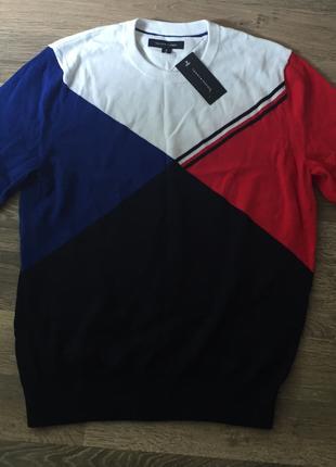 Tommy Hilfiger оригинальный мужской свитер