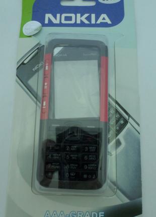 Корпус Nokia 5310 красный+клавиатура Супер качество
