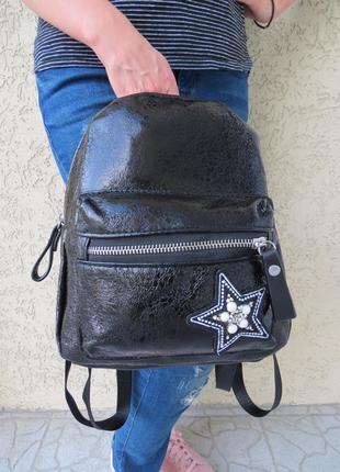 Рюкзак женский черный. сумка - рюкзак женская. рюкзаки женские