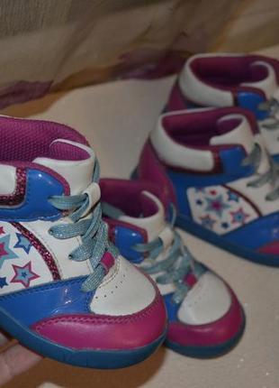 Кожаные ботиночки clarks 24 р., 15 см