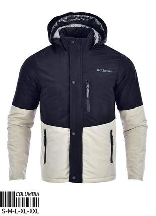 Куртка мужская теплая columbia турция / курточка чоловіча тепл...