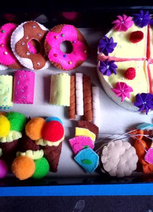 Игрушечный набор Чудесный сладкий стол