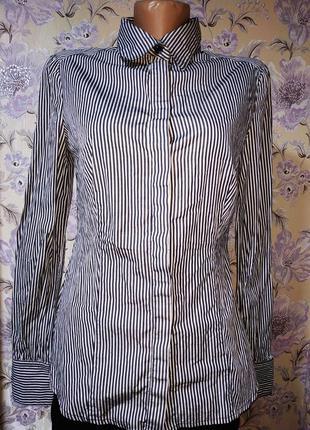 Женская рубашка в полоску mango