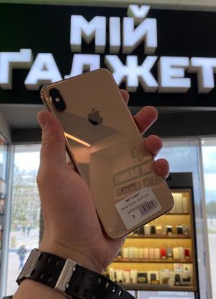 Б.У Apple iPhone Xs Max 64/Золотий/Gold/Епл Айфон Xs Max/Кредит