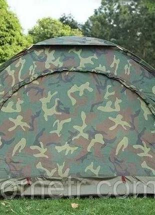 Трехместная туристическая палатка водонепроницаемая