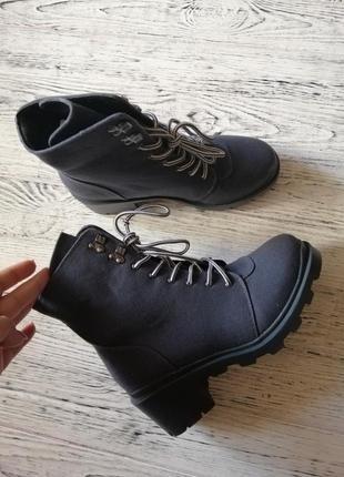 Массивные ботинки на тракторной подошве missguided