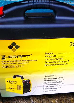 Сварочный инвертор Z-Craft 350