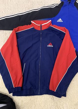 Винтажная мужская куртка ветровка adidas