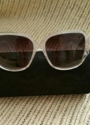 Dolce &gabbana, очки белого цвета