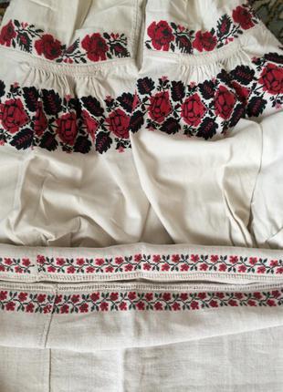 Старовинна сорочка вишита Старинная рубашка вышита Вышиванка