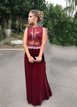 Платье вечернее Италия